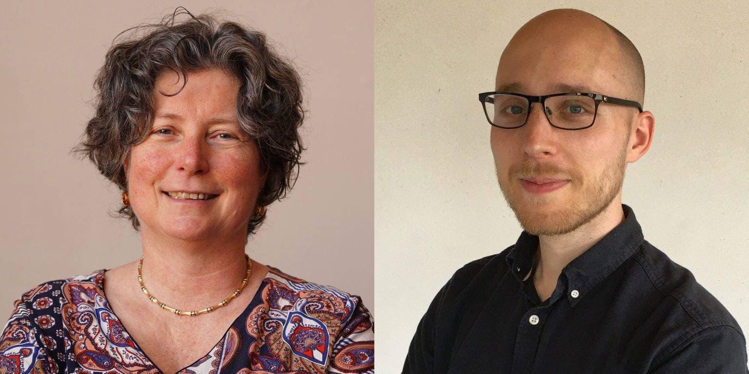 Mariette Driessens en Stephan Meijer van patiëntenorganisatie NVHP